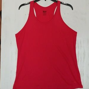 Nike dry fit pink exercise tank size Xl.